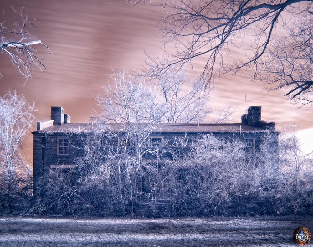 Pennhurst State School (Spring City, PA) | Infrared Audobon Hall II - Pennhurst State School and Hospital