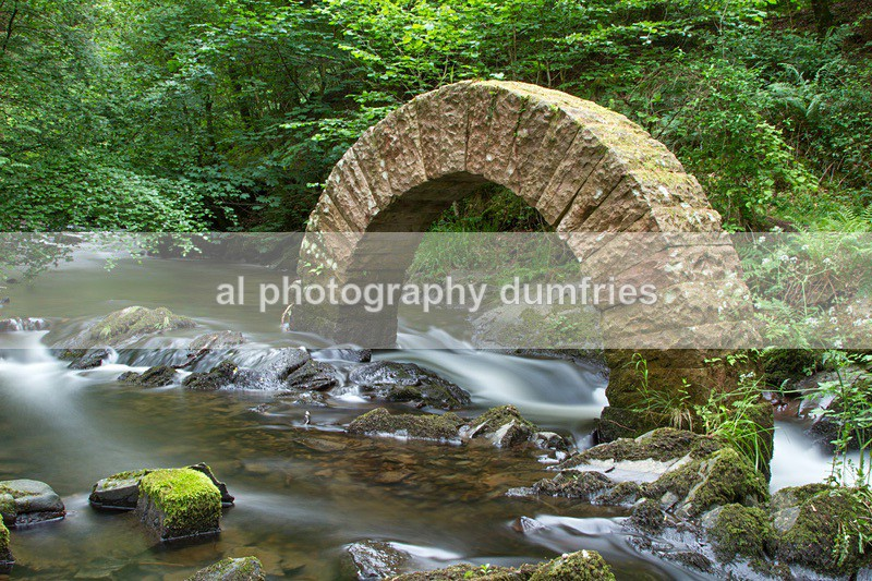 Golsworthy striding arch- Drumlanrigg Castle