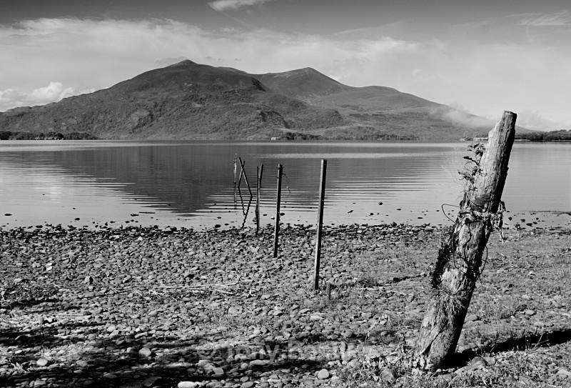Kilarney Lake - Monochrome