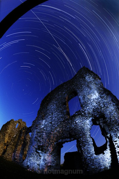 ISS @ Boxgrove Priory - NIGHT TIME