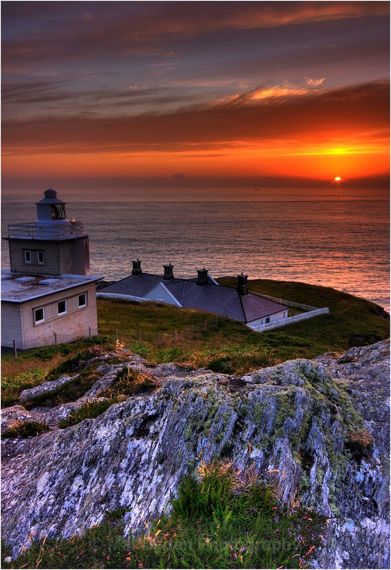 Bull Point Lighthouse - South and Southwest