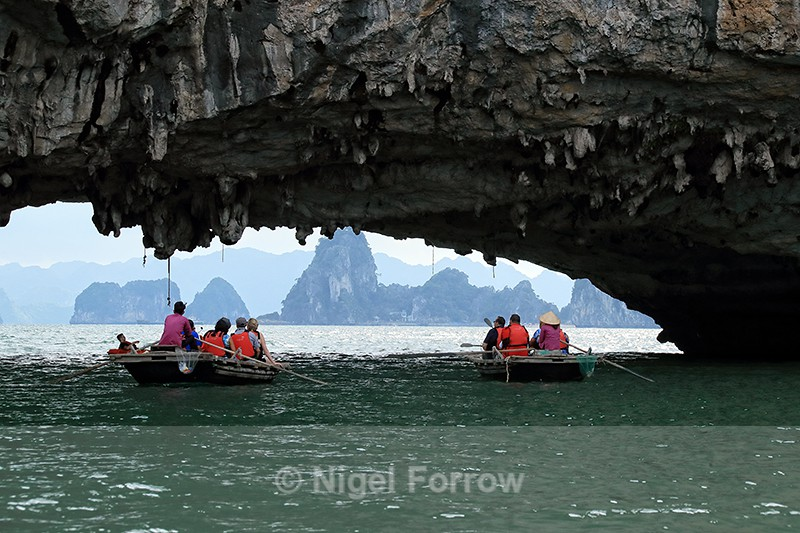 Archway near Vung Vieng fishing village, Vietnam - Vietnam