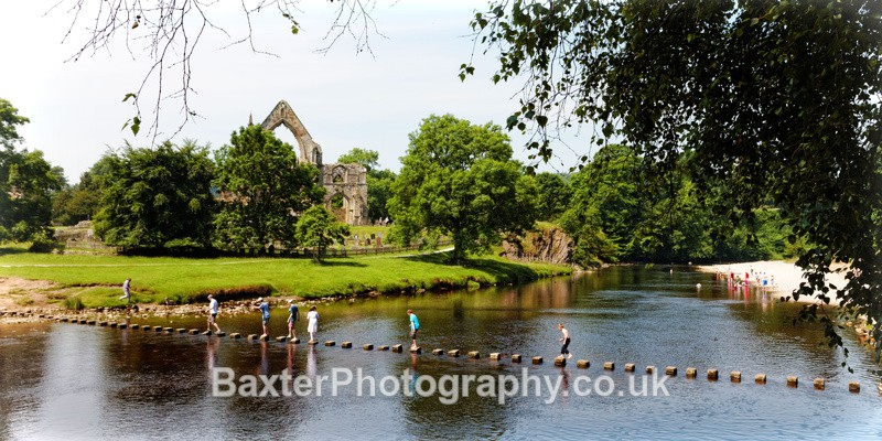 Stepping Stones (2 x 1 Version) - Brimham Rocks and  Bolton Abbey