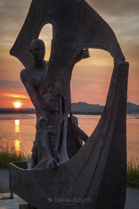 Sea God Manannan - Soldiers Point Dundalk