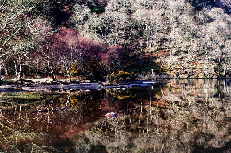 Touch of Colour - Landscapes of Ireland - Glendalough and the Wicklow Mountains