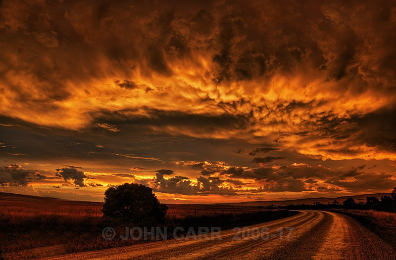 Sunset Road-2-3289_7_8-HDR - A STORMY MONDAY & FRIDAY-NOVEMBER 2012