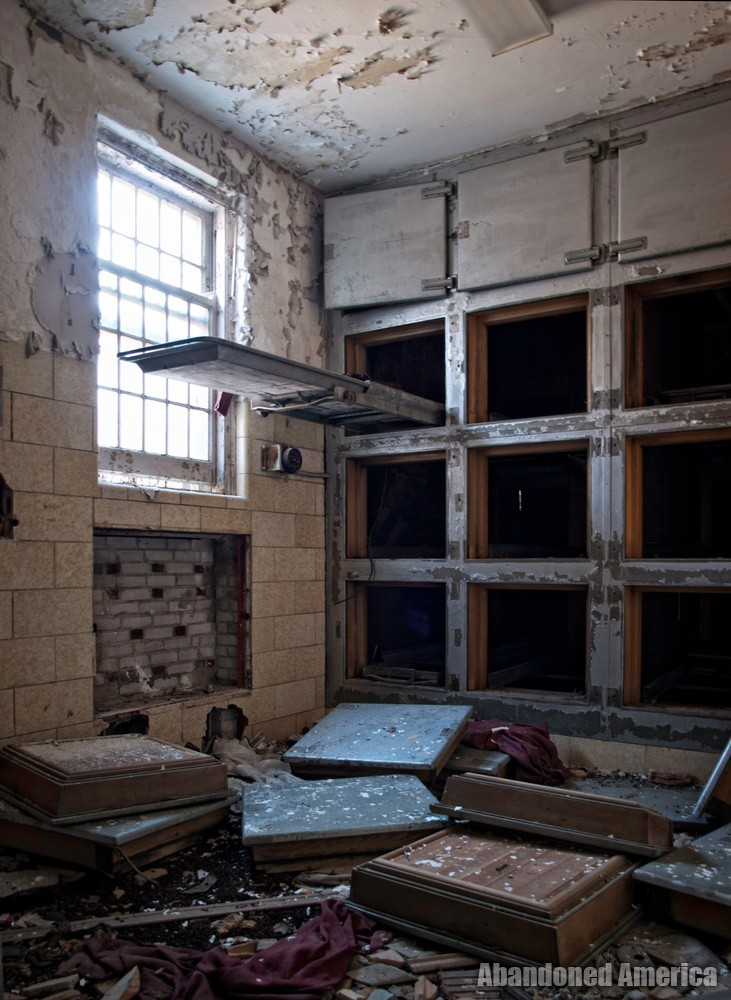 Dying In Your Sleep: Photographing Pilgrim State Hospital's Remains
