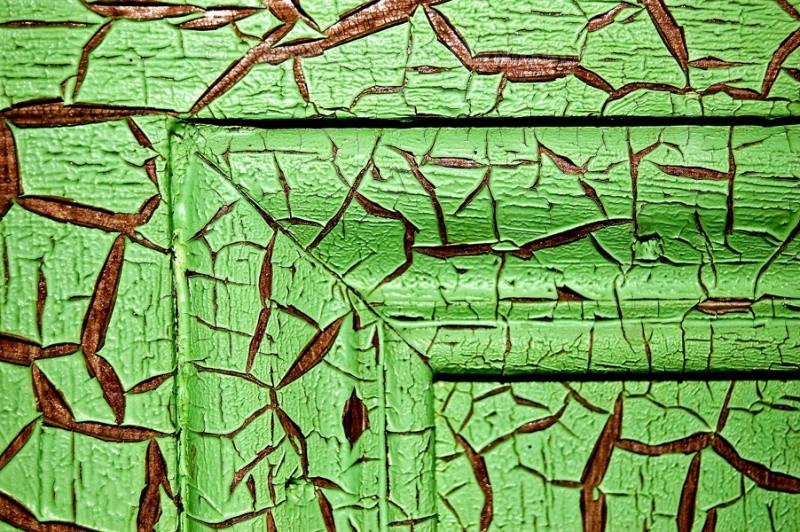 Old schoolhouse door - Cabrach