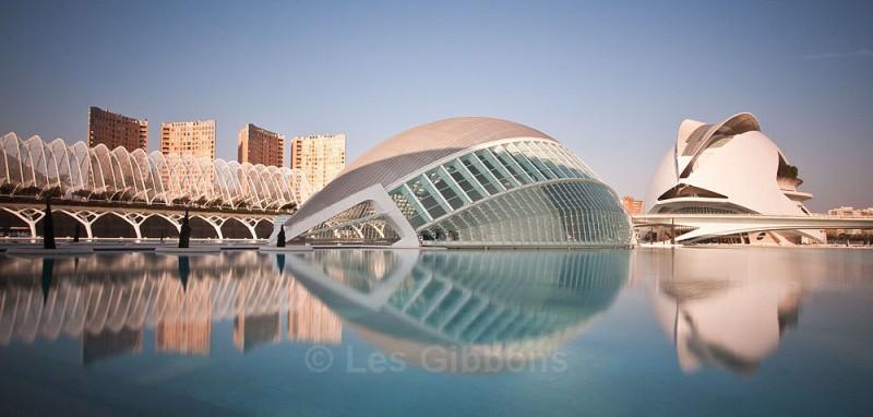 hemisphefic and opera house2 - Valencia