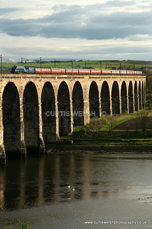 60007  Tweed Crossing Berwick Upon Tweed - Curtis Welsh - Preserved Railways