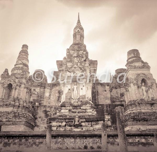 Wat Mahathat # 8 - Sukhothai  スクタイ
