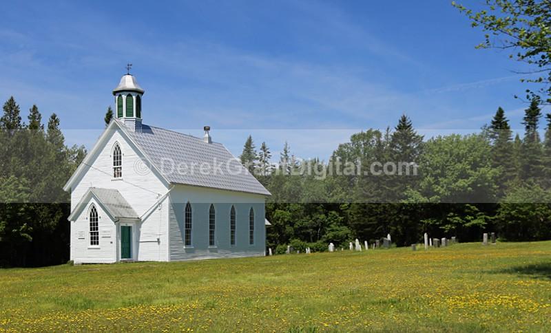 Stewarton United Church New Brunswick Canada - Churches of New Brunswick