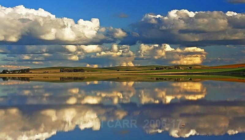 Porter Lagoon Reflections 1 - WATER - SALT OR FRESH PHOTOS
