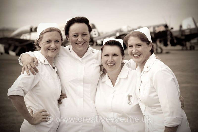 Duxford Nurses. - People and Portraits