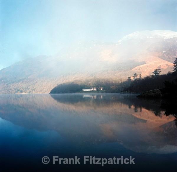Loch Lomond from Rowardennan, Strathclyde, Scotland. - Scottish scenics