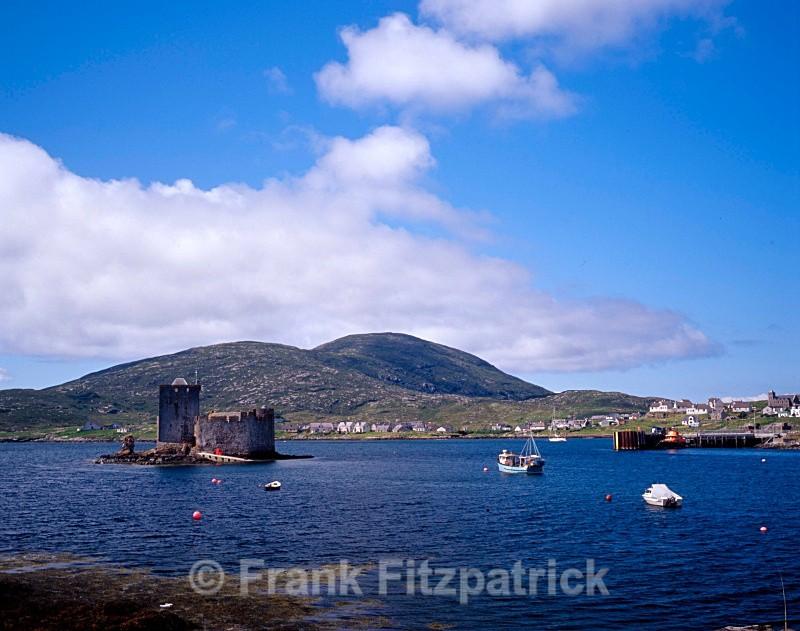 Kisimul castle, Castlebay, Island of Barra, Outer Hebrides - Barra