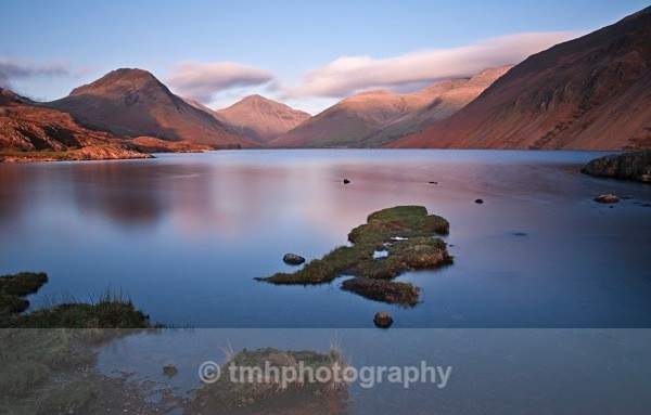 Evening Light at Wast Water. - Lakedistrict