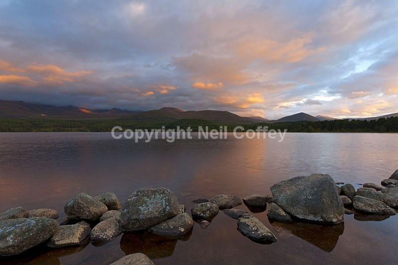 Loch Morlich & The Cairngorm Plateau, The Cairngorms2 - Landscape format