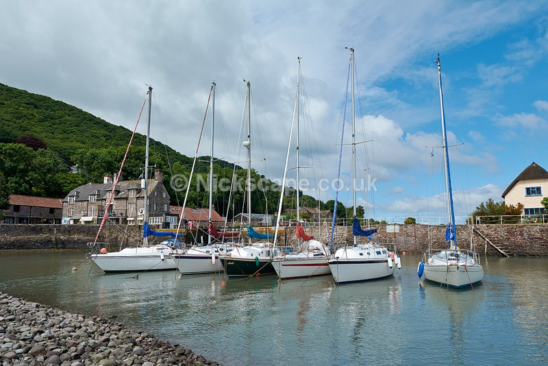 Boats at Porlock Weir - Exmoor National Park - Exmoor