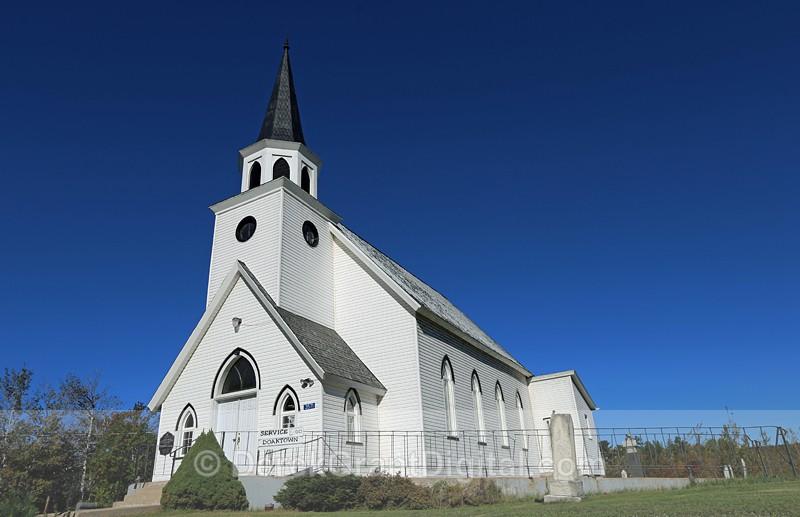 Boiestown United Church ~ New Brunswick, Canada - 1 - Churches of New Brunswick