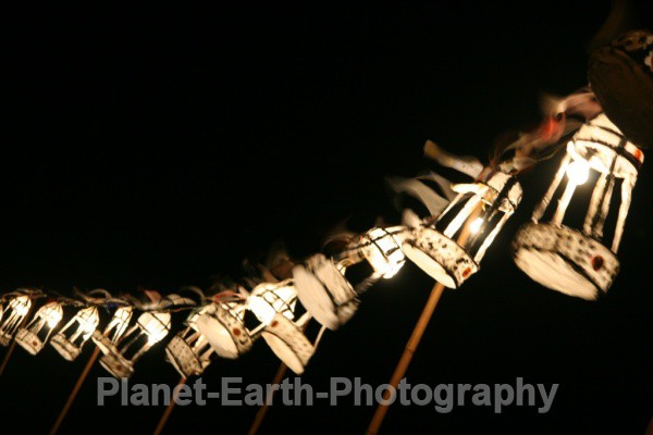 Paper Lanterns - Abstract / Creative