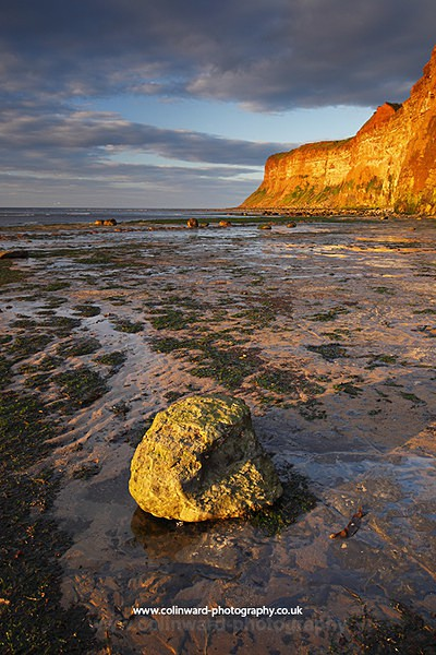 Hunt Cliff, Saltburn.   ref 8236 - North Yorkshire and Cleveland