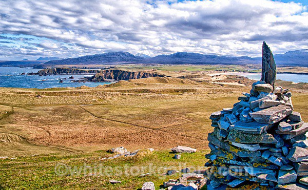 View from Top Faraid Head - Scottish Highlands
