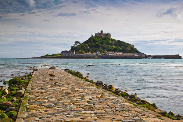 Path to St Michael's Mount - Landscape