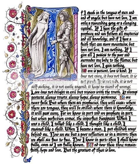 1 Corinthians - Commercial (Giclee) prints