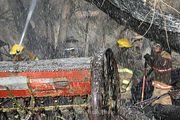 Using the Foam - Looks like Snow - Fallon/Churchill Fire Department