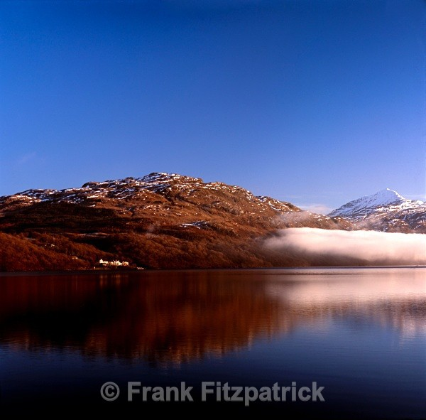 Loch Lomond from Inveruglas, Strathclyde, Scotland. - Scottish scenics