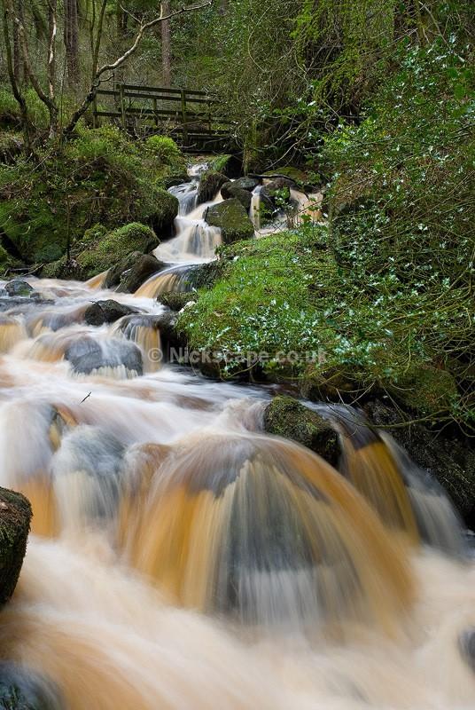 Wyming Brook Waterfalls in Summer - Sheffield, UK - Peak District Landscape Photography Gallery