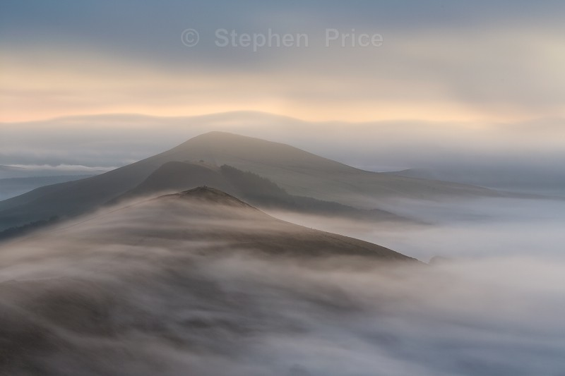Mam Tor Mist | Peak District Photography