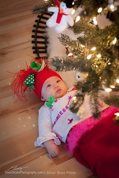 Alexa's first Christmas - People