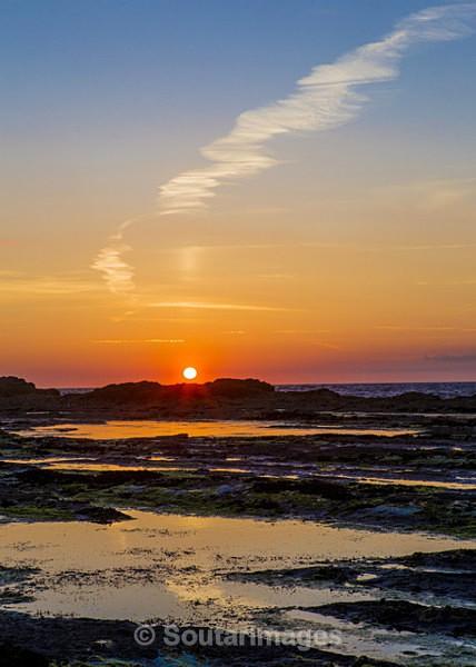 Baltard Sunset - Doonbeg Area