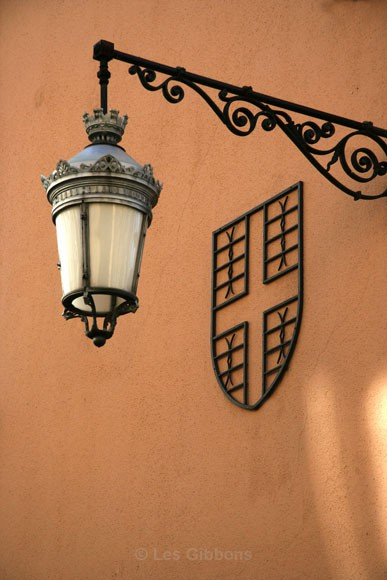 Lamp and Plaque - Grenoble