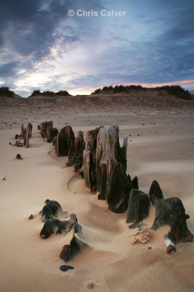 Sand Storm - Suffolk Coastal Scenes