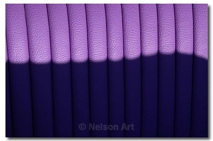 Lilac Leather - Just A Bit Odd