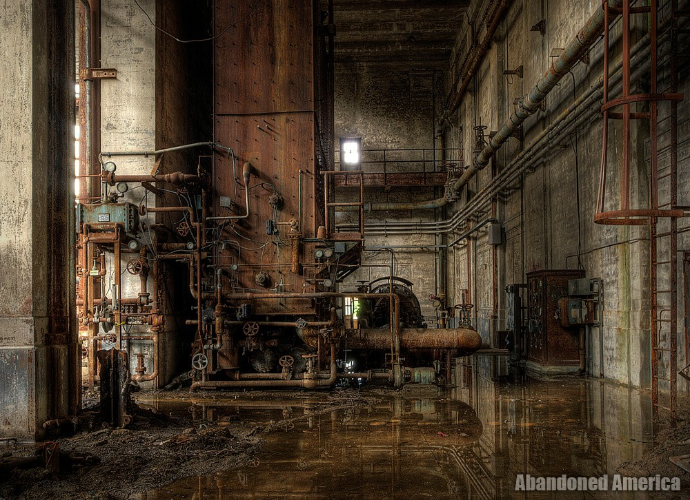 little oases in the desert of time - Portside Power Plant*