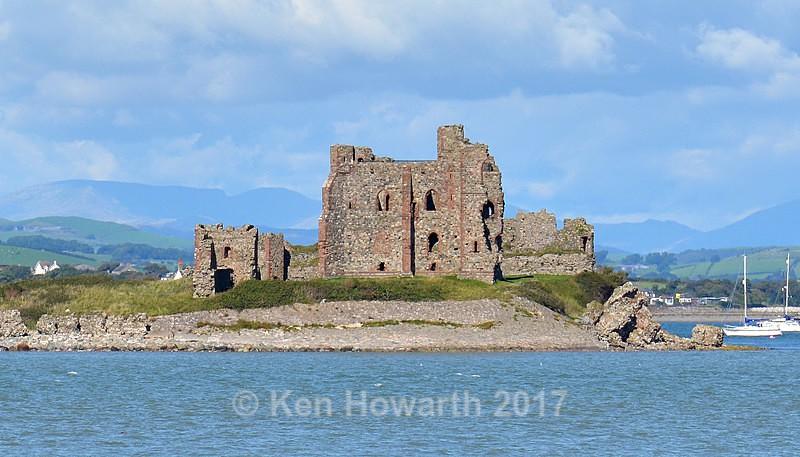 Piel Castle from South Walney, Barrow-in-Furness - Lakeland Landscapes