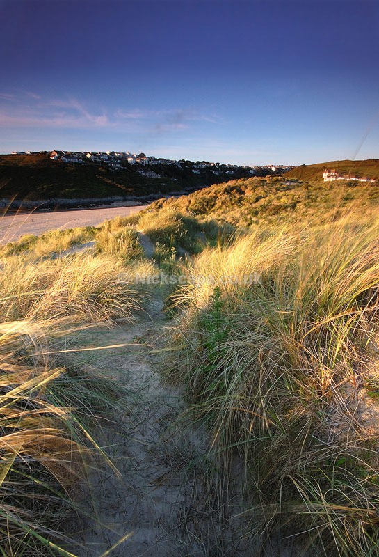 Dunes at Crantock Beach | Gannel Estuary Newquay | Cornwall Photography by Nick Cockman