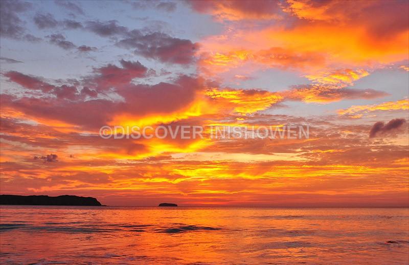 Gorgeous sky, Trawbreaga Bay - Nature