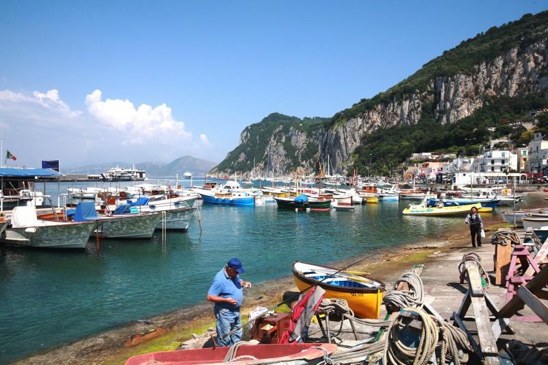 Capri - Marina Grande - European Landscapes