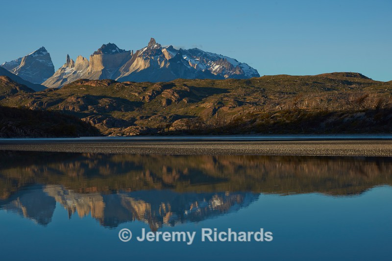 Reflections in Lago Grey - Torres del Paine National Park