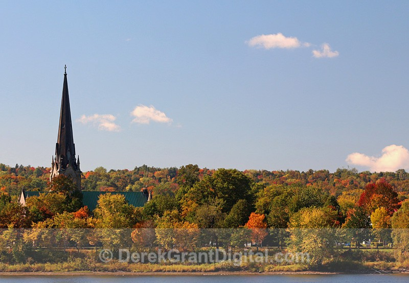 Christ Church Cathedral Fredericton New Brunswick Canada - Churches of New Brunswick
