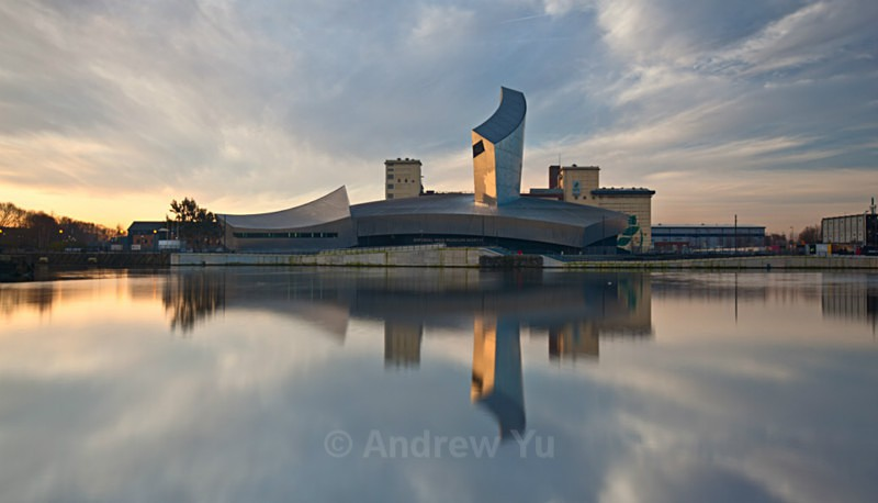 Reflections of the Imperial War Museum - Urban Landscape Photography