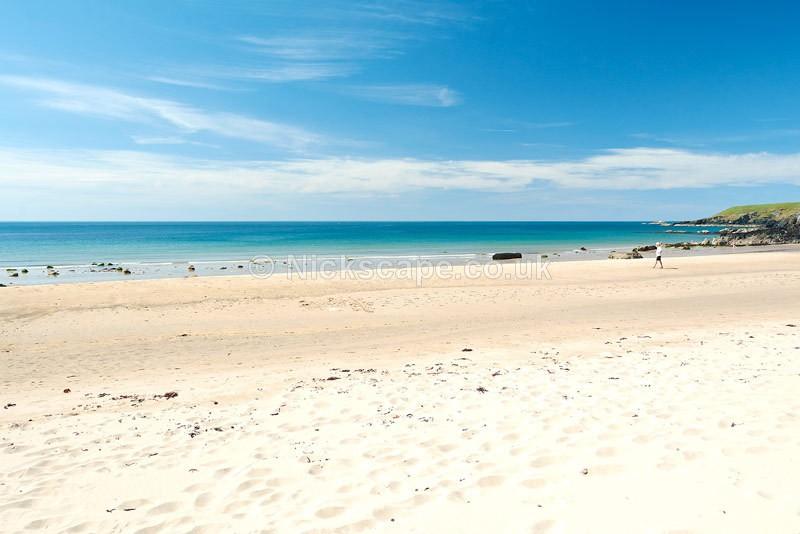 Porthor - Porth Oer Beach - Whistling Sands - Llyn Peninsular - Wales - Wales