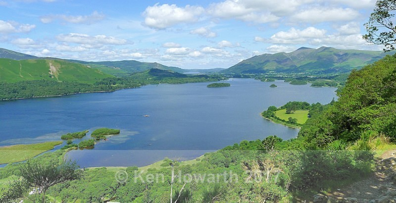 Derwent Water from Surprise View - Lakeland Landscapes