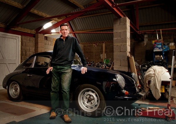 Ian & his Porsche - Recent Images