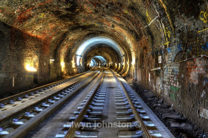 BOWSHANKS TUNNEL - WAVERLEY LINE 2012-2015